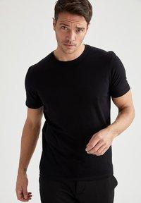 DeFacto - T-shirt - bas - black - 0