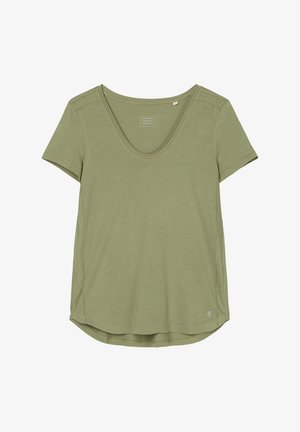 Basic T-shirt - dried sage