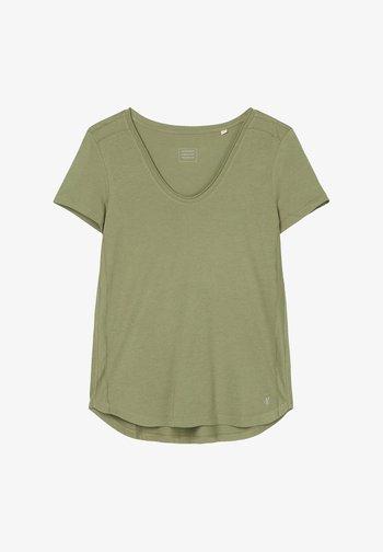 Basic T-shirt - dried sage