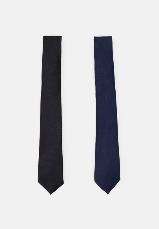 TIES 2 PACK - Stropdas - navy