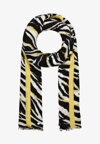 Esprit - SOFTZEBRASCARF - Sjal - black - 1