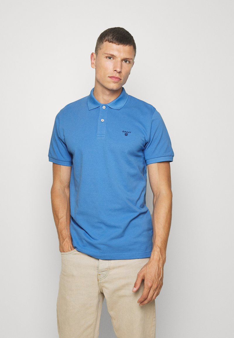 GANT - THE SUMMER - Polo - pacific blue