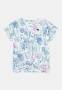 Abercrombie & Fitch - TWIST FRONT  - Print T-shirt - white - 0