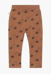 Mainio - PICK UP TRUCK PANTS SLUB - Leggings - Trousers - pecan brown - 1