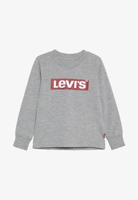 Levi's® - BOX TAB TEE - Långärmad tröja - grey heather - 2