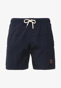 Urban Classics - BLOCK - Swimming shorts - navy - 2