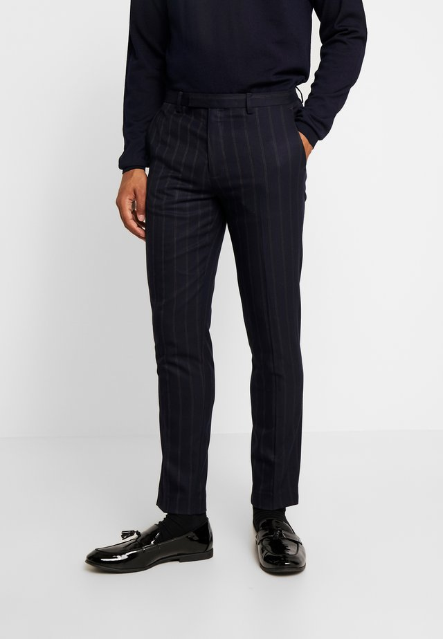 SCOTT SUIT  - Pantaloni eleganti - navy
