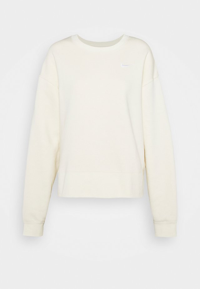 CREW TREND PLUS - Sweatshirt - coconut milk/white