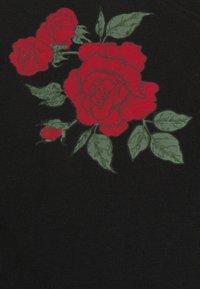 Brave Soul - ROSE SET - Printtipaita - black - 5