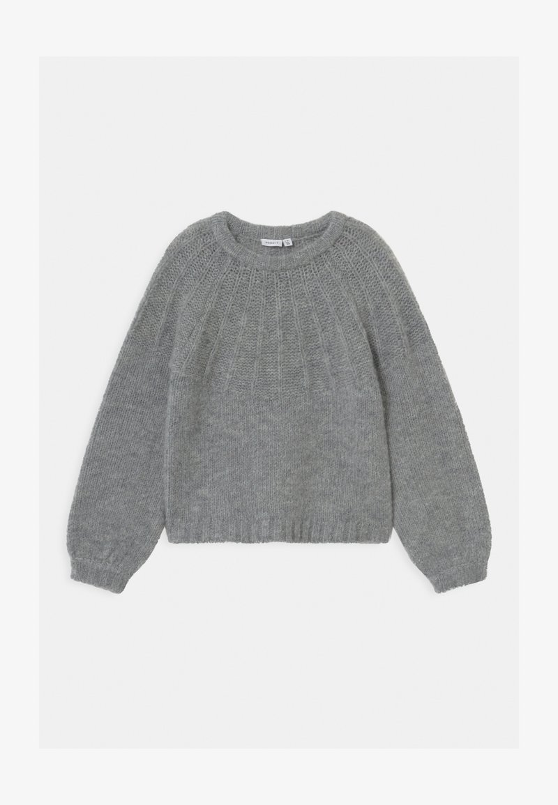 Name it - NKFRINJA  - Jumper - grey melange