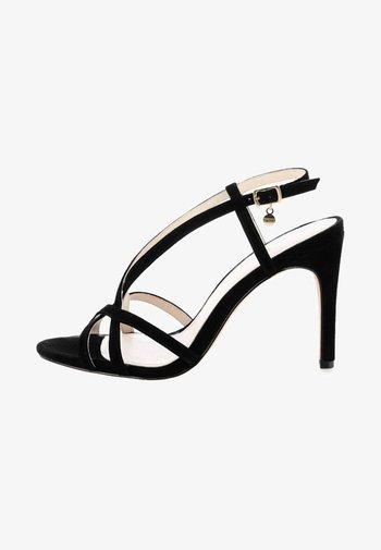 VILLAR - Sandalen met hoge hak - black
