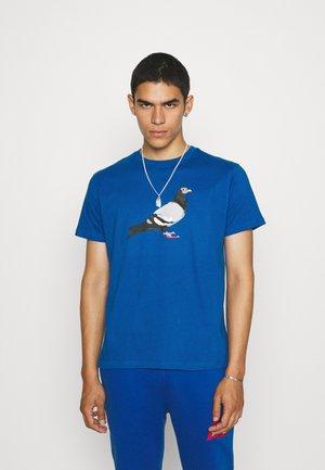 TEE UNISEX - T-shirt print - royal