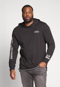 Only & Sons - ONSWF DEAN HOODIE - Pitkähihainen paita - black - 0
