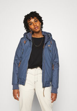 NUGGIE ZIG ZAG - Winter jacket - blue