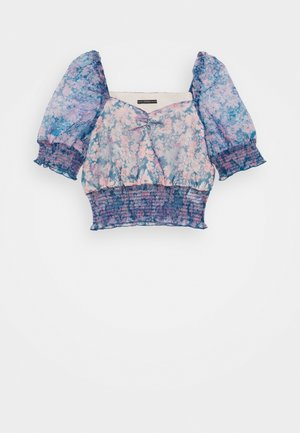 HALIMA - T-shirts med print - charcoal blue