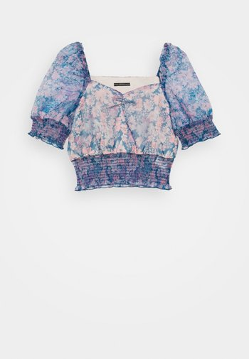 HALIMA - T-shirts med print - charcoal blue