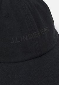 J.LINDEBERG - ELIJAH UNISEX - Cap - black - 3