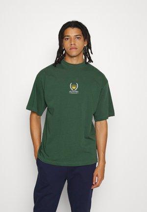 CREST UNISEX  - T-shirt print - dark green