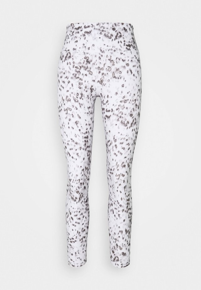 SHEEN FOIL 7/8 - Legging - white