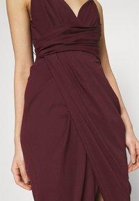 Forever New - CHARLOTTE DRAPE DRESS - Shift dress - burgundy - 4