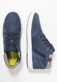Timberland - DAVIS SQUARE - High-top trainers - navy - 0