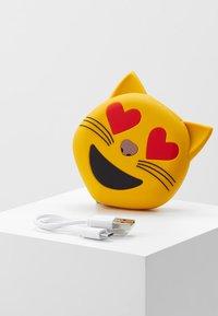 mojipower - LOVE CATEXTERNAL BATTERY - Power bank - yellow - 4