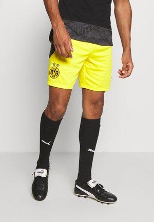 BVB BORUSSIA DORTMUND REPLICA - Pantaloncini sportivi - cyber yellow