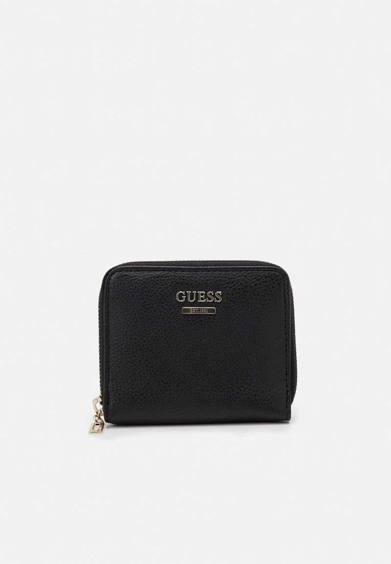 Guess - NAYA SMALL ZIP AROUND - Wallet - black