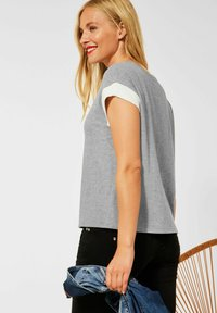Street One - Basic T-shirt - grau - 2