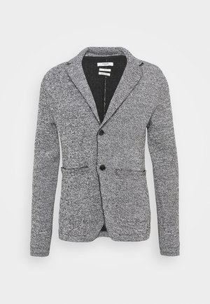 JPRBLACARTER SWEAT BLAZER - Blazer - black/mixed with white