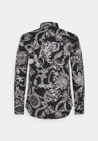 Versace Jeans Couture - PRINT REGALIA BAROQUE - Vapaa-ajan kauluspaita - nero - 1