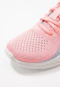adidas Performance - FLUIDFLOW - Neutrala löparskor - glow pink/sky tint/bright cyan - 5