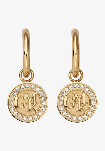 GMK COLLECTION CREOLE - Earrings - gold-coloured