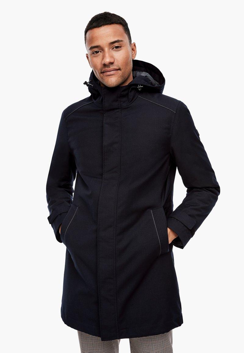 s.Oliver BLACK LABEL - 2-IN-1 - Down jacket - dark blue