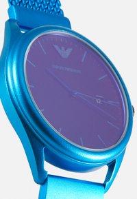 Emporio Armani - MATTEO - Hodinky - blue - 5