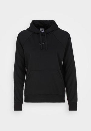 TAPE HOODIE - Sweatshirt - black