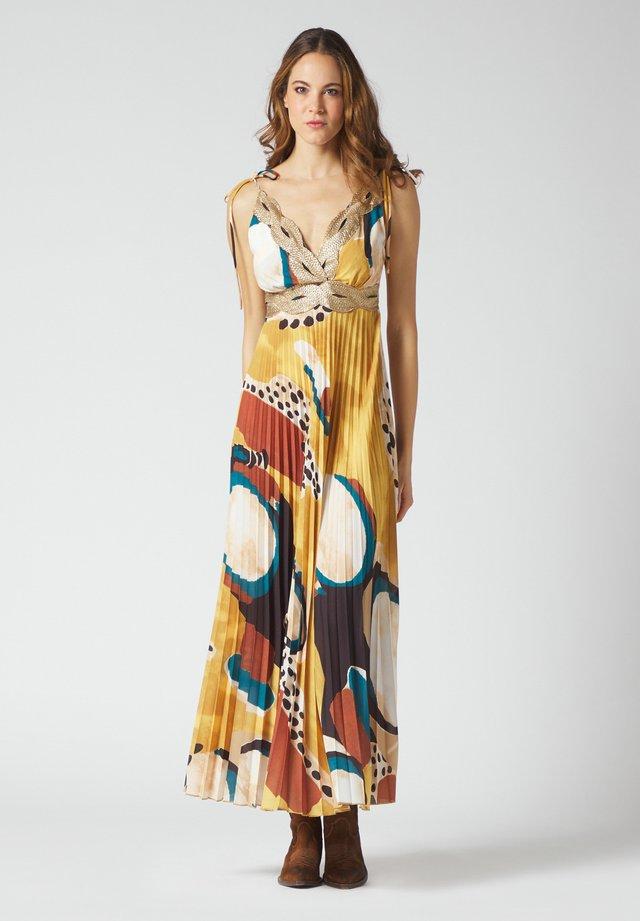 Maxi dress - senape