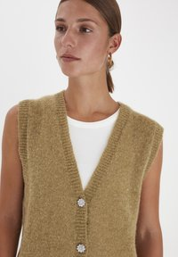 PULZ - PXIRIS SPECIAL FAIR OFFER - Cardigan - gothic olive - 3