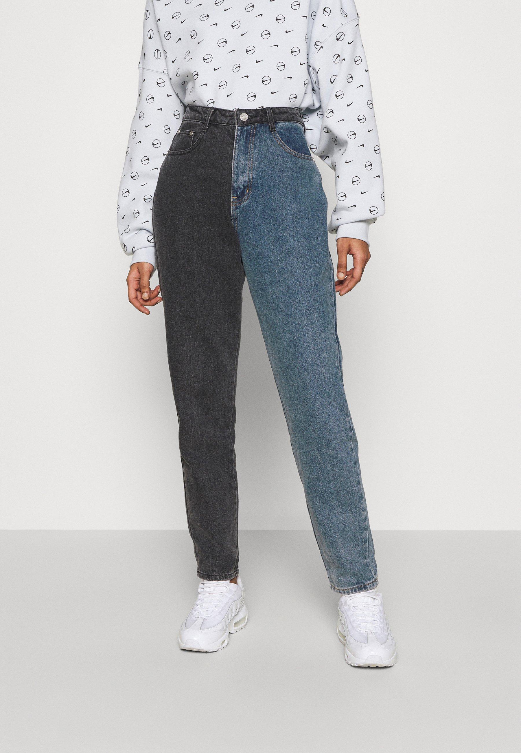 Damer COLOURBLOCK - Jeans Straight Leg