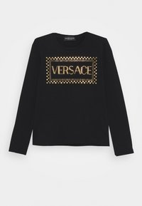 Versace - MAGLIETTA MANICA LUNGA - T-shirt à manches longues - black - 0
