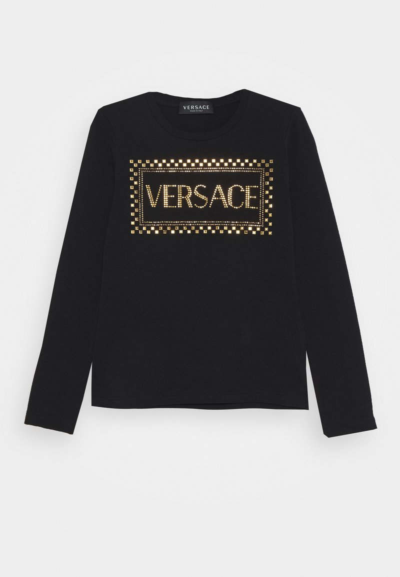 Versace - MAGLIETTA MANICA LUNGA - Top sdlouhým rukávem - black