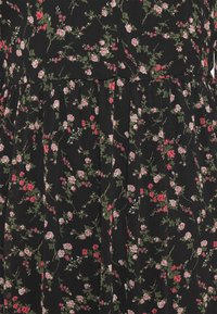 Vero Moda - VMSYLVIA CALF DRESS - Vestito estivo - black/rose - 2