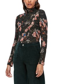 QS by s.Oliver - Long sleeved top - black aop - 4