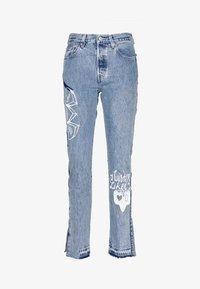501® JEANS FOR WOMEN - Straight leg jeans - luxor indigo