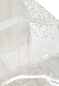 Eastpak - CRYSTAL CLEAR - Rucksack - splash white - 5
