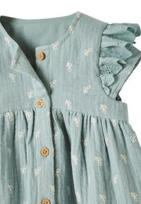 Vertbaudet - Day dress - graugrün bedruckt - 2