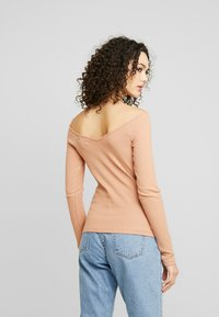Even&Odd - Long sleeved top - dark tan - 2