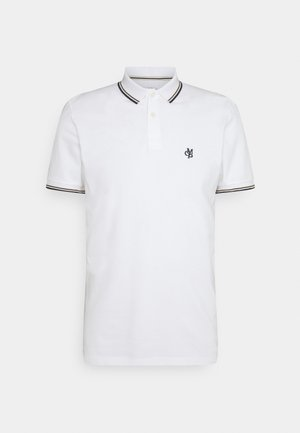 SHORT SLEEVE CONTRAST TIPPING - Polo shirt - white