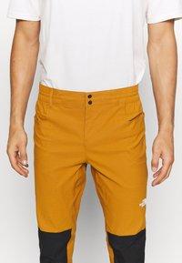 The North Face - MEN'S CLIMB PANT - Trousers - timbertan/black - 5