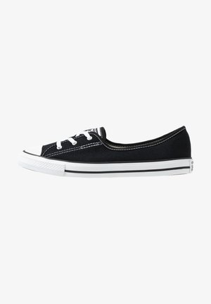 CHUCK TAYLOR ALL STAR BALLET LACE - Slip-ons - black/white